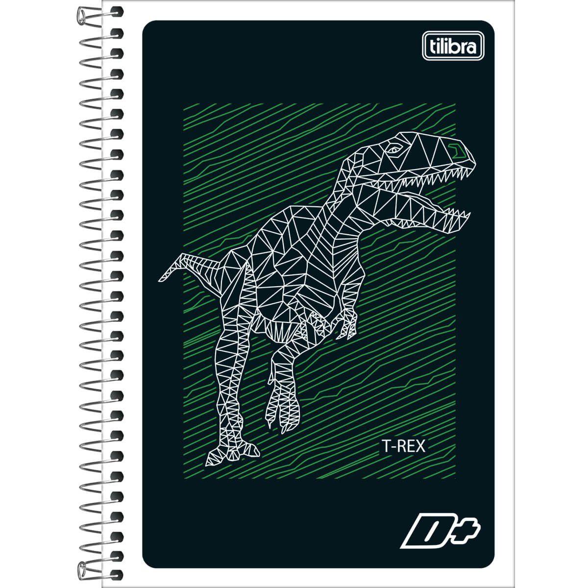Caderno Mais Espiral 1/4 (Tamanho Pequeno) 96 Folhas Capa Sortida 114766 Tilibra 11950