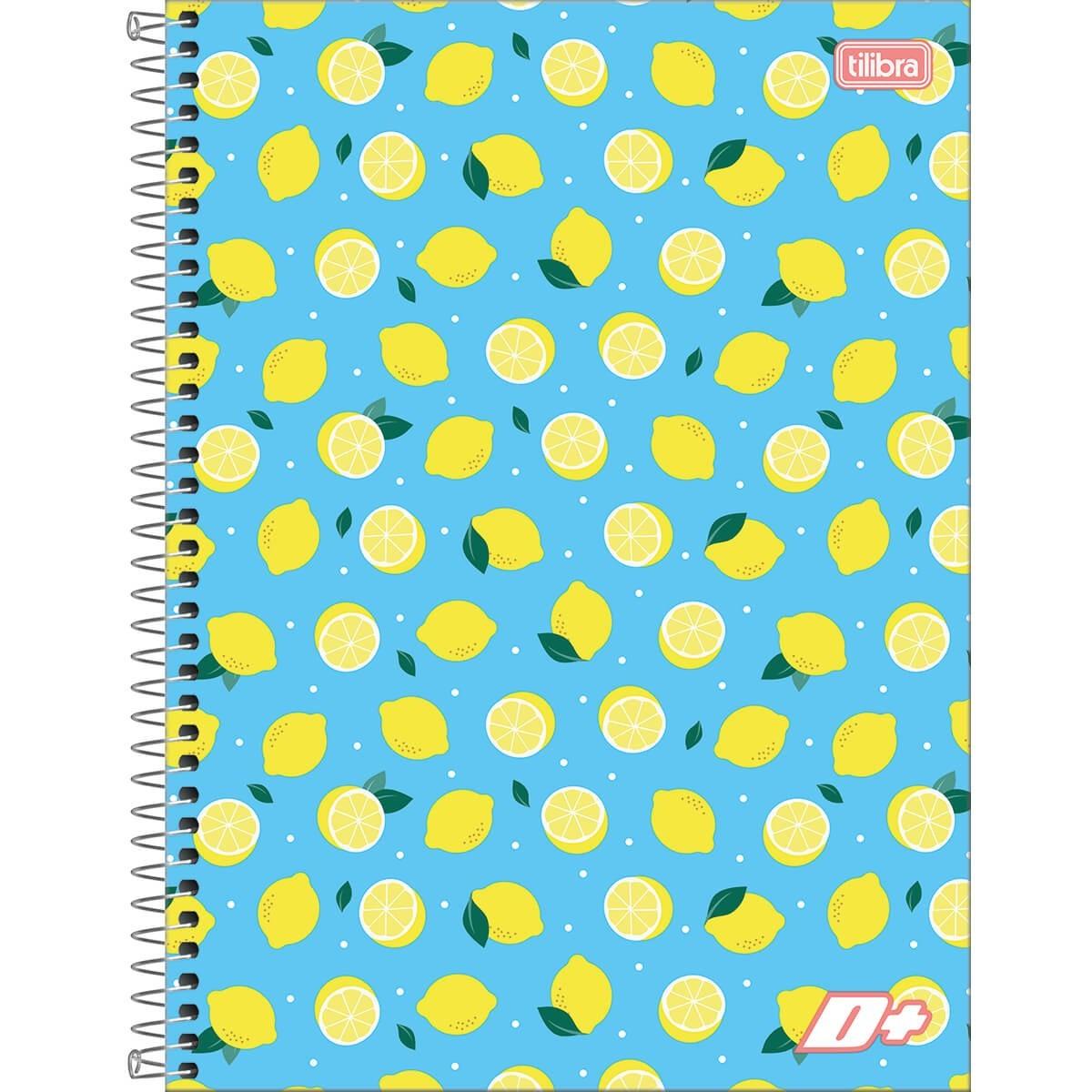 Caderno Mais Feminina Capa Dura / Sortida Universitário 1X1 96 Fls. 139246 Tilibra 17959