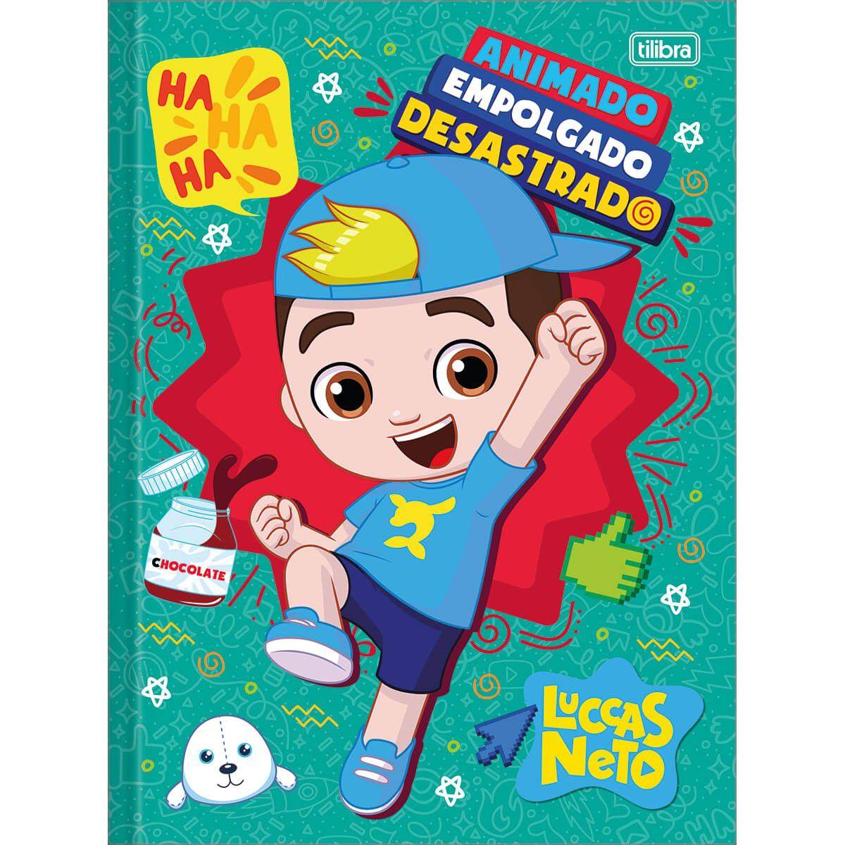 Caderno Tilibra Brochura Universitário Luccas Neto 48 Fls 309389 27986