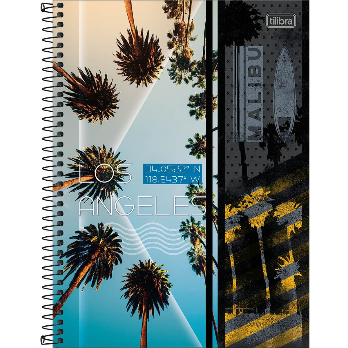 Caderno Tilibra Capa Dura Universitário 10M 160 Fls Sunset 315231 29455