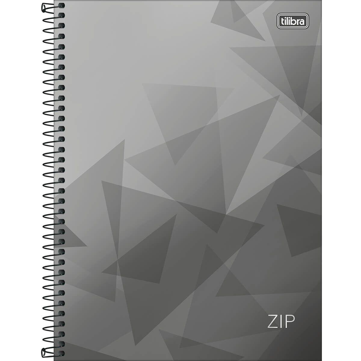 Caderno Tilibra Capa Dura Universitário 10M 200 Fls Zip 134473 27787