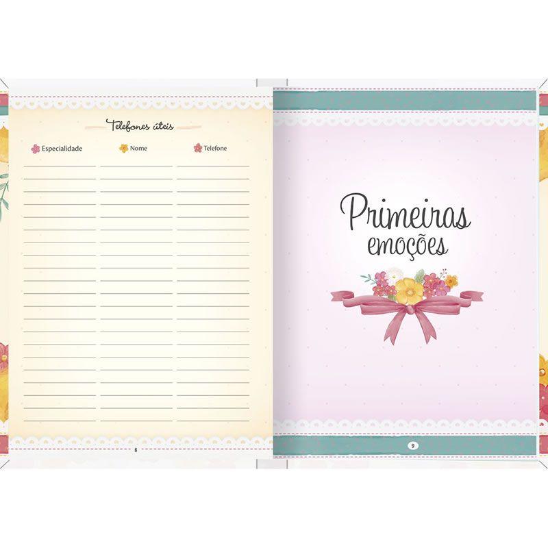 Caderno Tilibra Diário da Mamãe Capa Dura 80 Fls 122181 26097