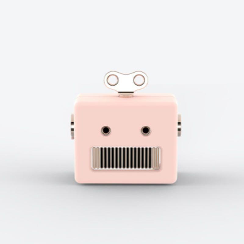 Caixa de Som Bluetooth UP4YOU Robo Pink Ra09503Up Pk 28169