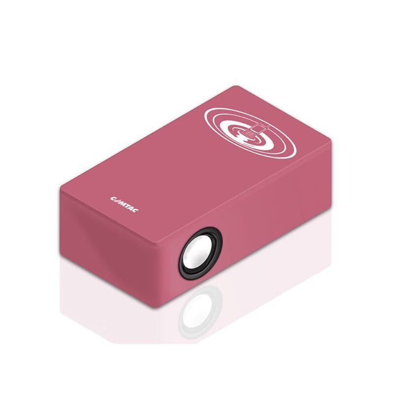 Caixa de Som Magic Booster Sem Fio Rosa 9251 Comtac 21195
