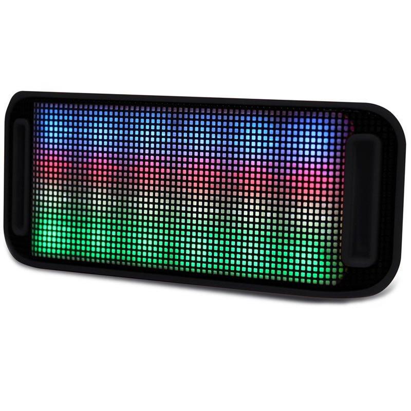 Caixa de Som Bluetooth Lumini LED 4W 6012001 Maxprint 24172