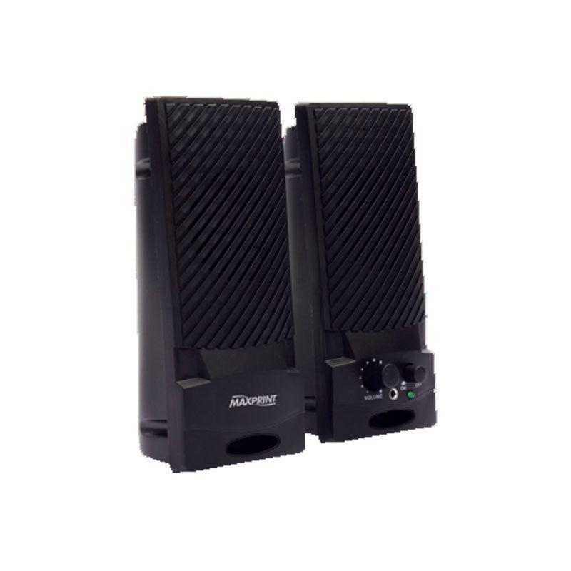 Caixa de Som USB Black 601145 Maxprint 22790