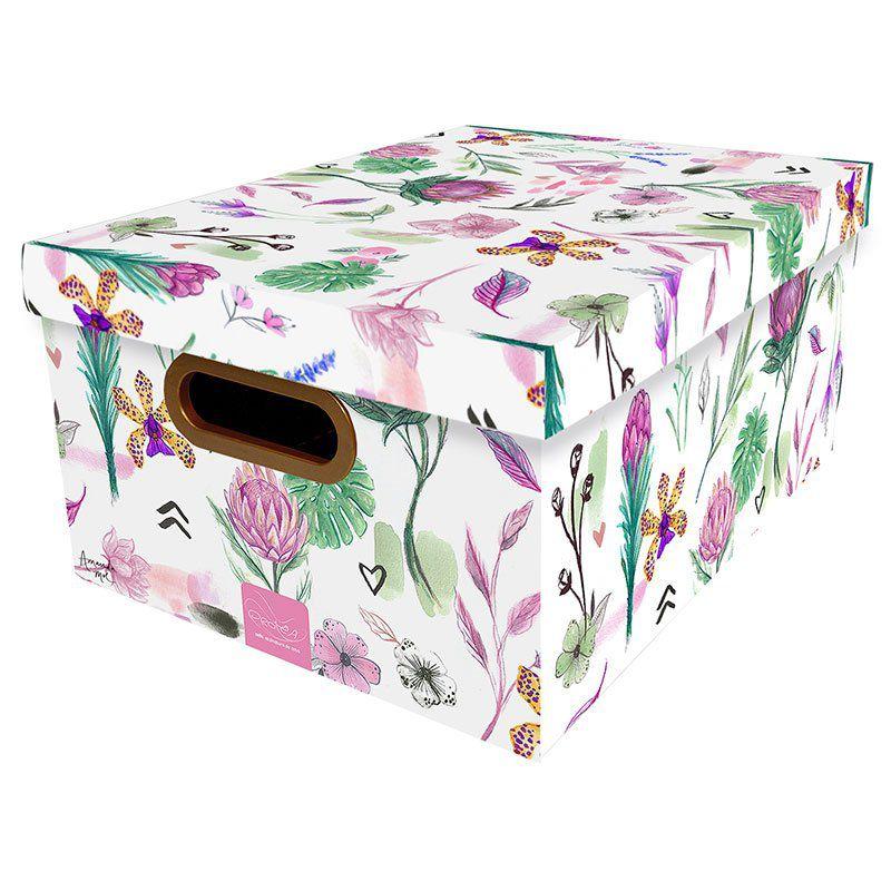 Caixa Organizadora Dello 38X29X18Cm Botanica 2197.06.0005 26184