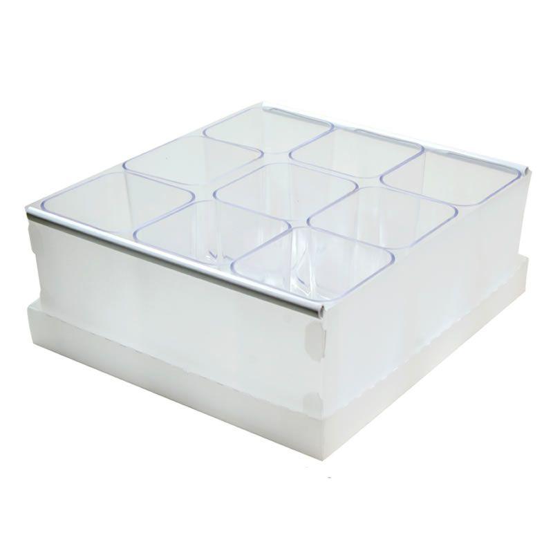 Caixa Organizadora Dello 9 Porta Objetos Cristal 2194.H.0004 29257