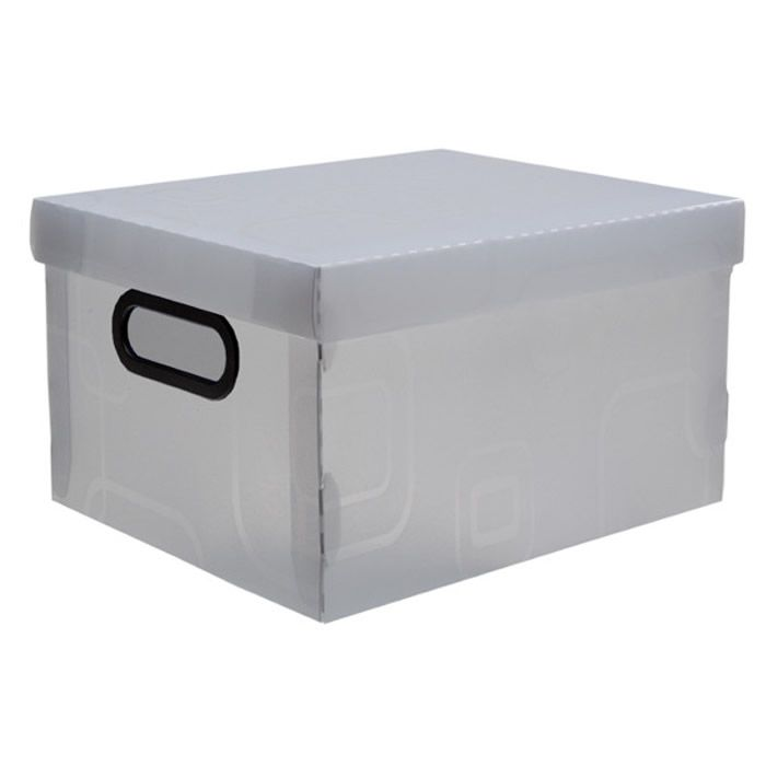 Caixa Organizadora Desmontável Cristal 420X310X200Mm G 2172H0005 Dello 21994
