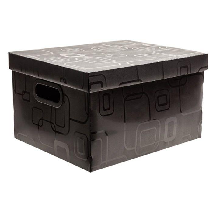 Caixa Organizadora Desmontável Preto 380X290X185Mm M 2171H0005 Dello 21992
