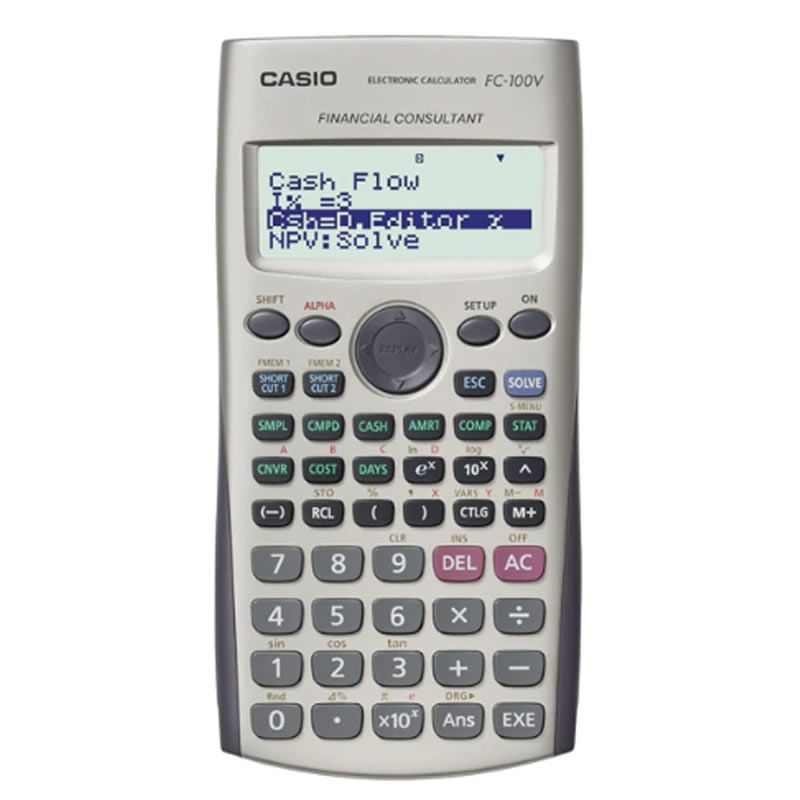 Calculadora Casio Financeira Fc-100V-W-Dh 28244