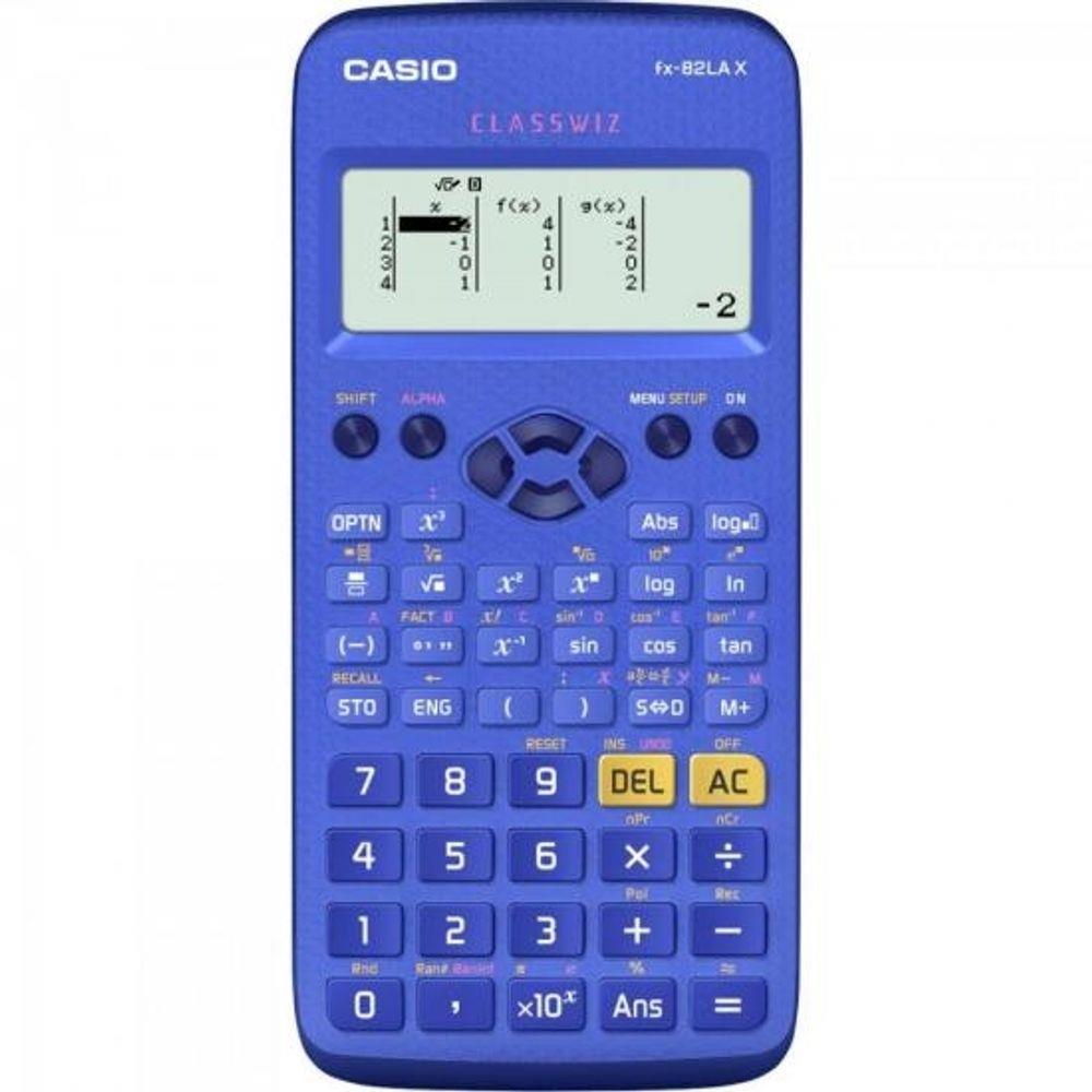 Calculadora Casio FX-82LAX Cientifica 274 Funções Azul 29042