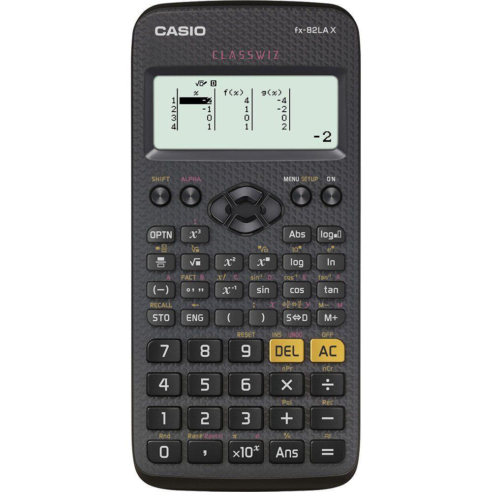 Calculadora Casio FX-82LAX Cientifica 274 Funções Preta 28209