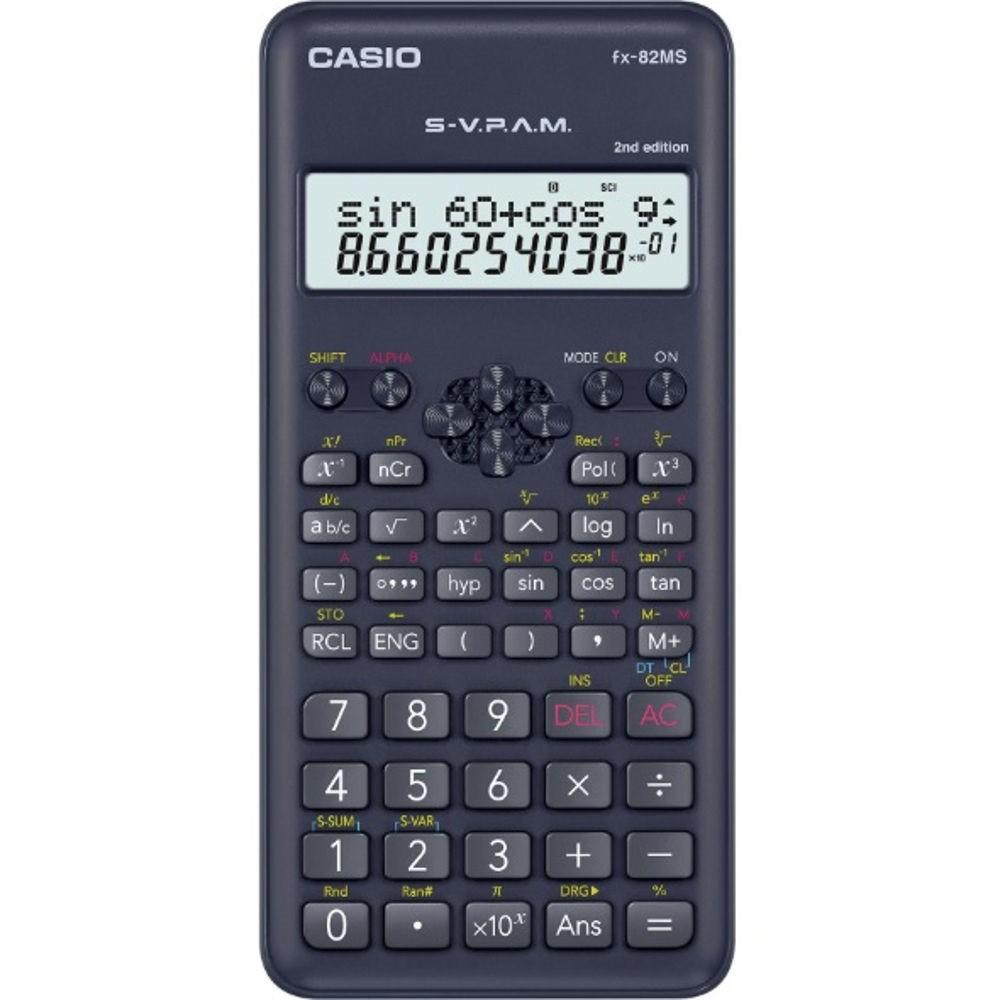 Calculadora Científica 240 Funções FX-82MS Casio 21729
