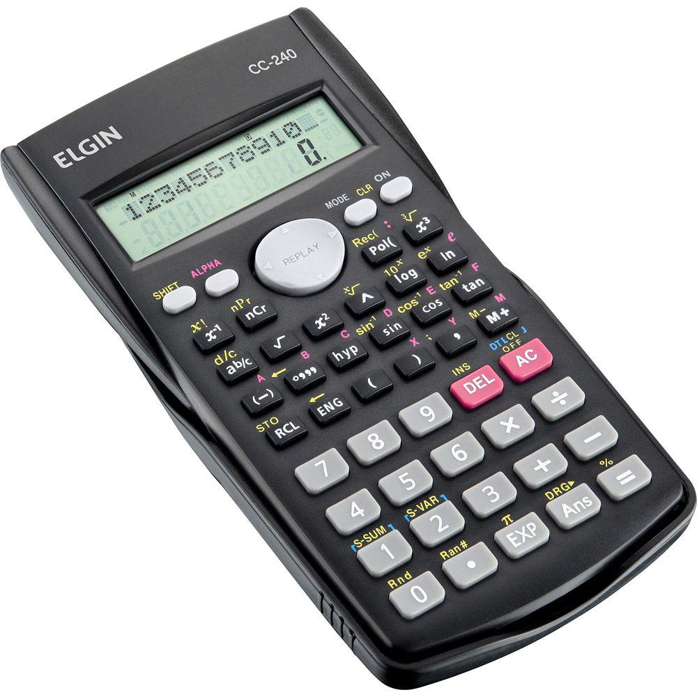Calculadora Cientifica Elgin Com 240 Funções 42Cc240 21220