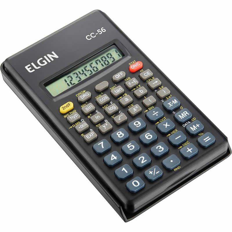 Calculadora Cientifica Elgin Com 56 Funções 42CC56 21221