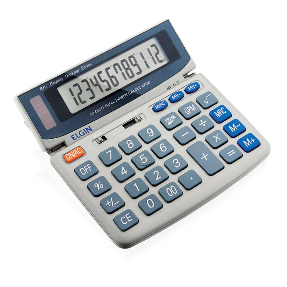 Calculadora Elgin Mesa 12 Digitos MV-4121 02404