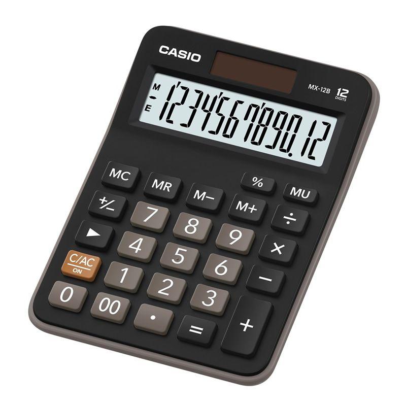 Calculadora de Mesa 12 Dígitos MX-12B Casio 22844