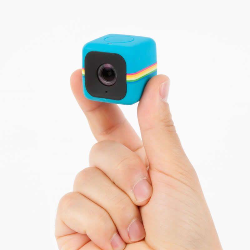 Câmera de Ação Full HD Cube Polaroid Azul 27413