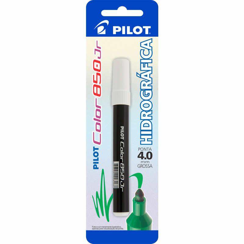 Caneta Hidrográfica Preta Color 850 Junior Pilot 02018