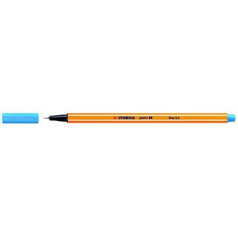 Caneta Stabilo Point 88/51 Fine 0.4 Extrafina Azul Turquesa 13209