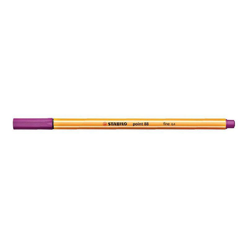 Caneta Stabilo Point 88/55 Fine 0.4 Extrafina Violeta 13207
