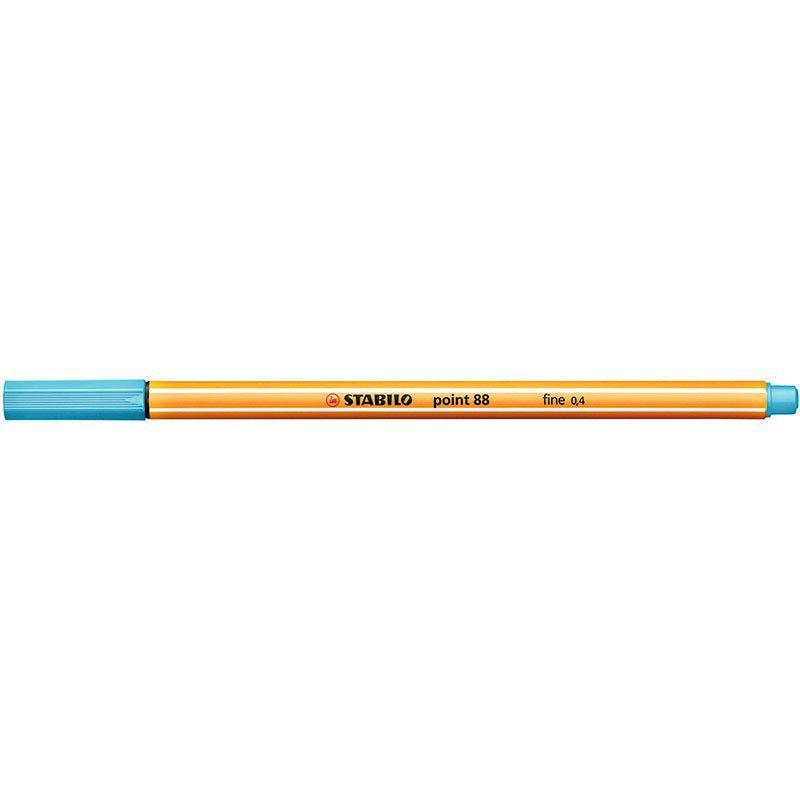 Caneta Stabilo Point 88/57 Fine 0.4 Extrafina Azul Cl. 13216