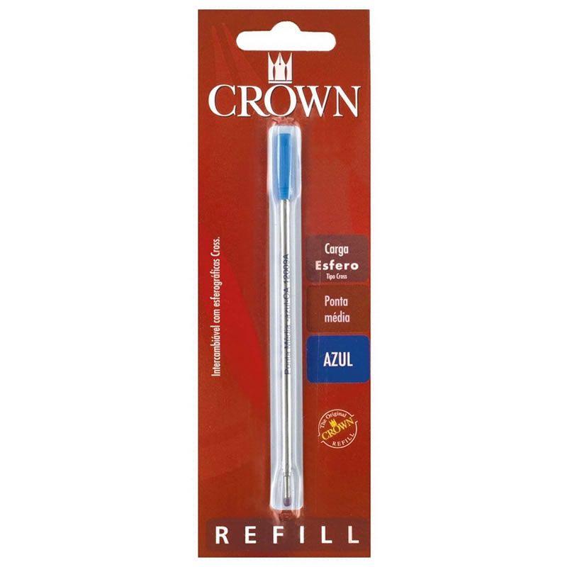 Carga Crown Esferografica Azul CA12009A 26748