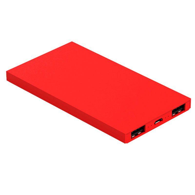 Carregador Portátil Geonav Universal Vermelho 6200Mah Pb6200R 25730