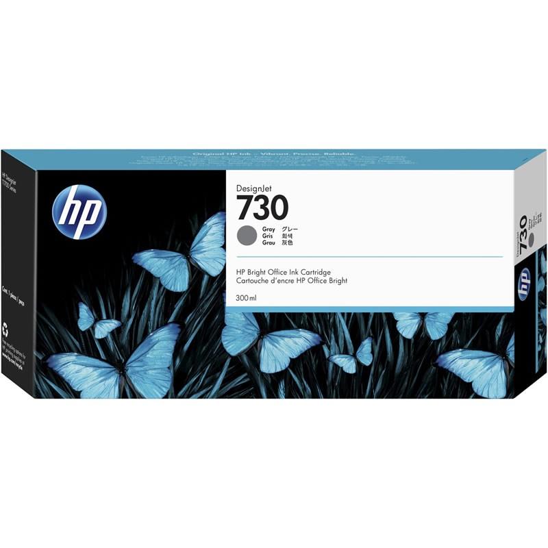 Cartucho de Plotter HP 730 P2V72A Cinza 26647