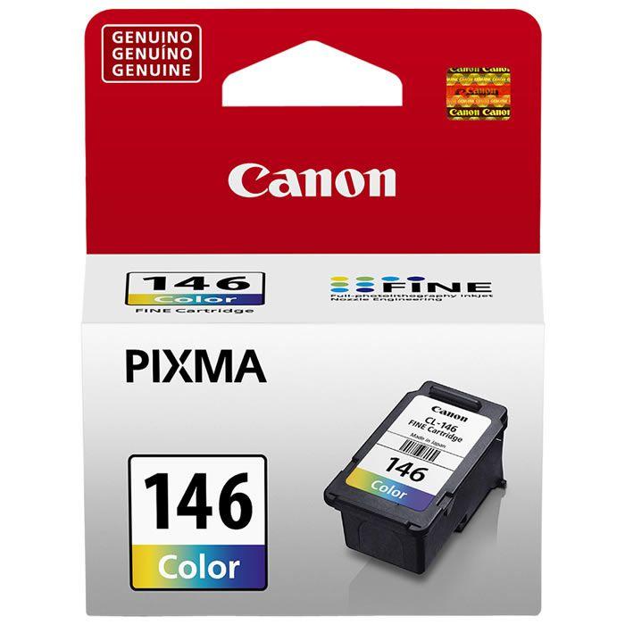 Cartucho de Tinta Original Canon CL-146 Colorido 22379
