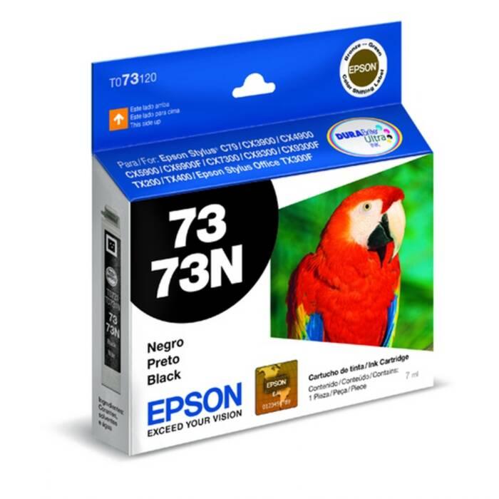 Cartucho de Tinta Epson T073120-BR Preto DurABrite Ultra 16334