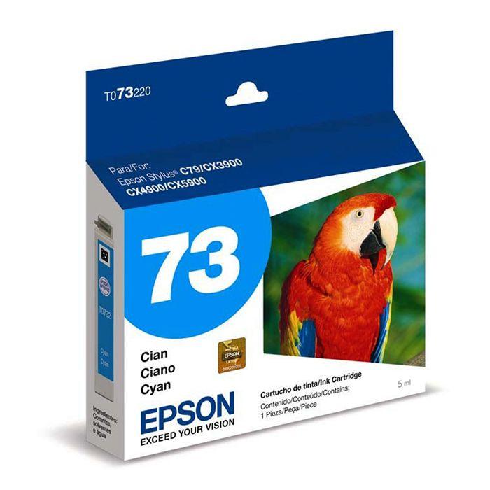 Cartucho de Tinta Epson T073220-BR Ciano DurABrite Ultra 16335