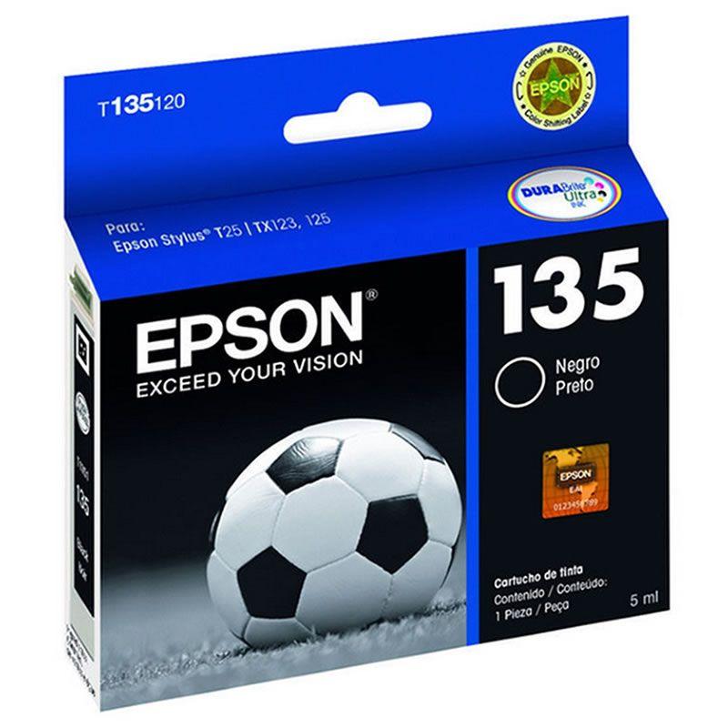 Cartucho de Tinta Epson T135120-BR Preto 16338