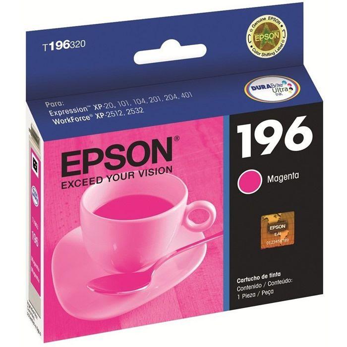 Cartucho de Tinta Epson T196320-BR DurABrite Ultra Magenta 18010