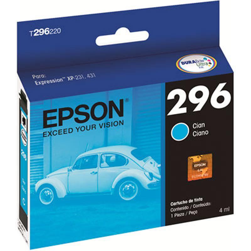 Cartucho de Tinta Original Epson T296220-BR Ciano 22427