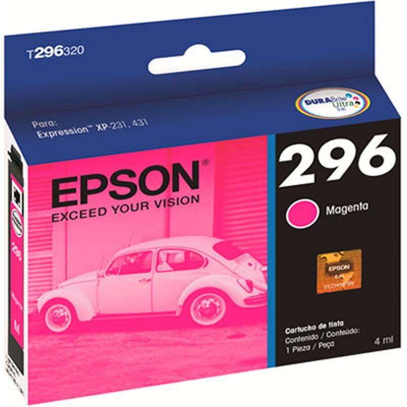 Cartucho de Tinta Epson T296320-BR Magenta 22428