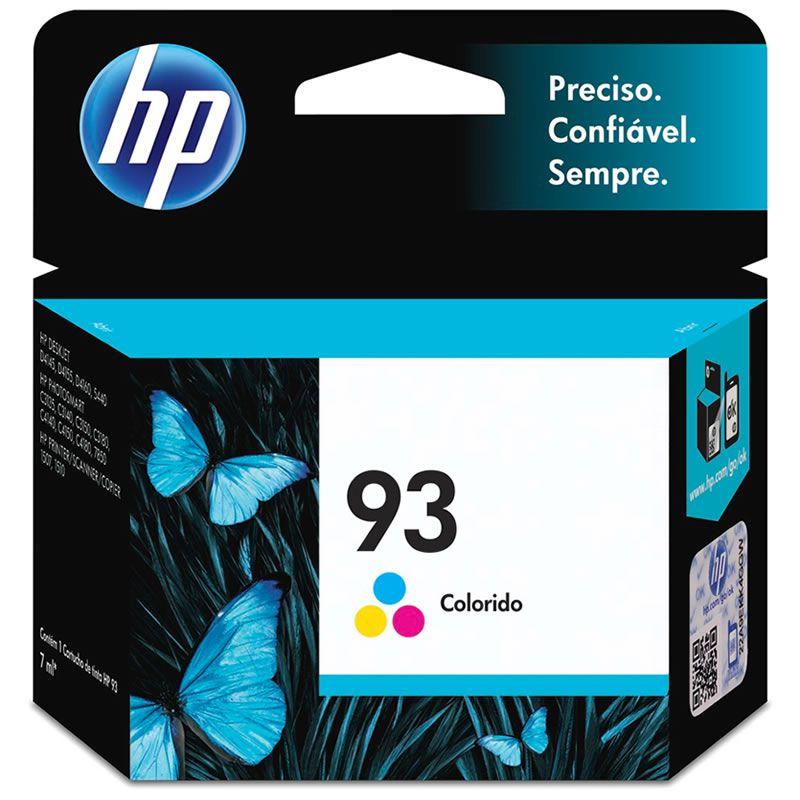 Cartucho HP 93 Colorido Original (C9361WB) 13985