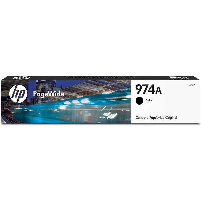 Cartucho HP 974A Preto Pagewide Original (L0R96AL) 26061