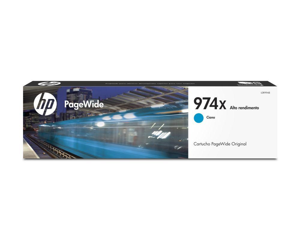 Cartucho de Tinta HP 974X L0R99Al Ciano 26164