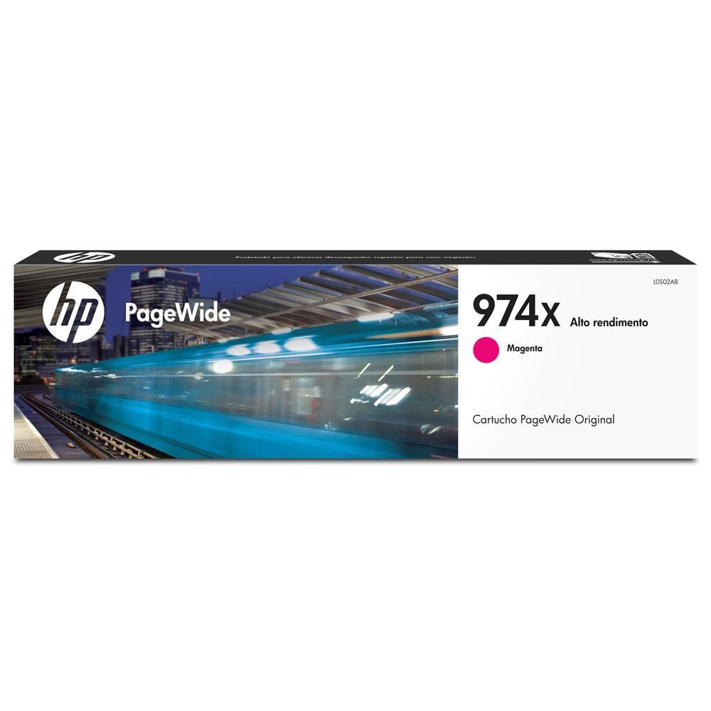 Cartucho de Tinta HP 974X Magenta Original (L0S02AL) 26165