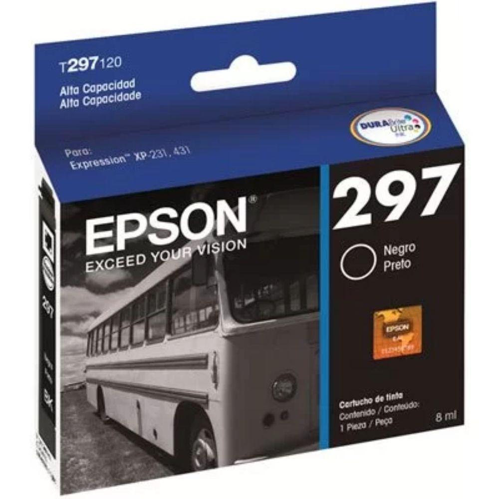 Cartucho De Tinta Preto Xp-231/Xp-431 T297120-Br Epson 22426