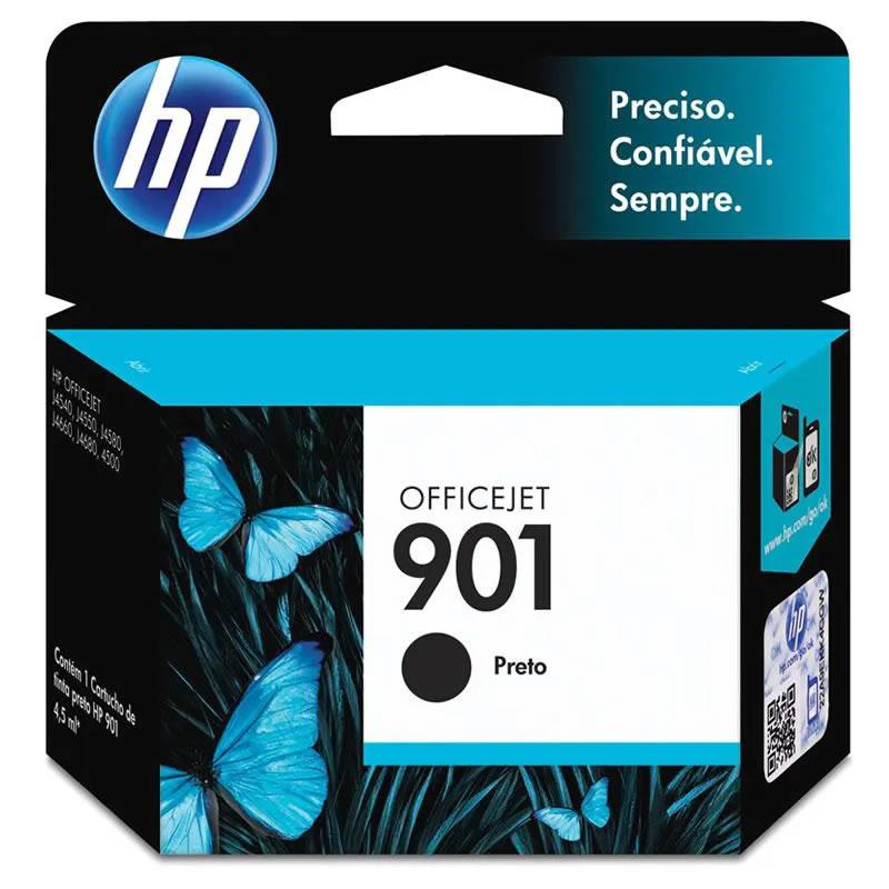 Cartucho HP 901 Preto Original (CC653AL) 12317