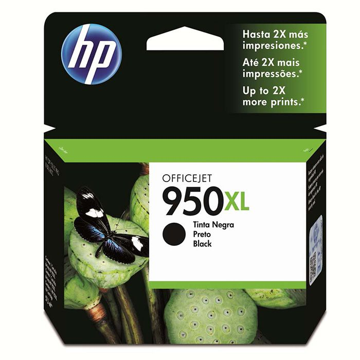 Cartucho HP 950 XL Preto Original (CN045AB) 21765