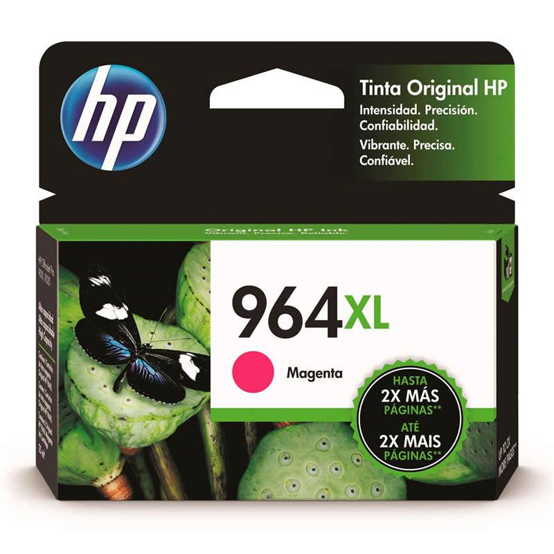 Cartucho HP 964 XL Magenta Original (3JA55AL) 27188