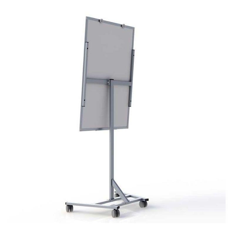 Cavalete Stalo Para Flip Chart Super Magnetico Com Rodizio 8259 27243