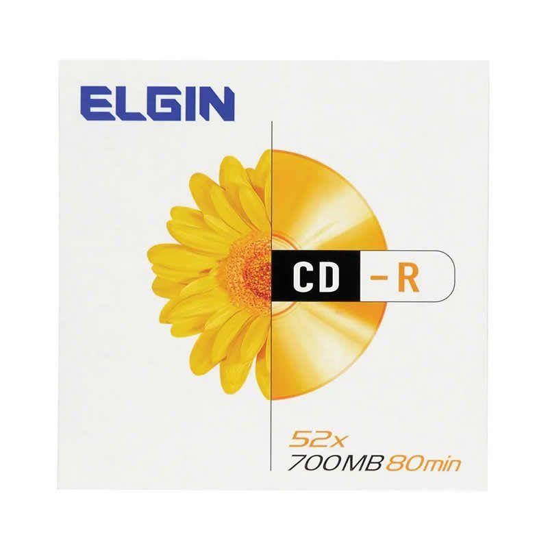 CD-R Elgin 700Mb 80 Min Envelopado 82053 11532