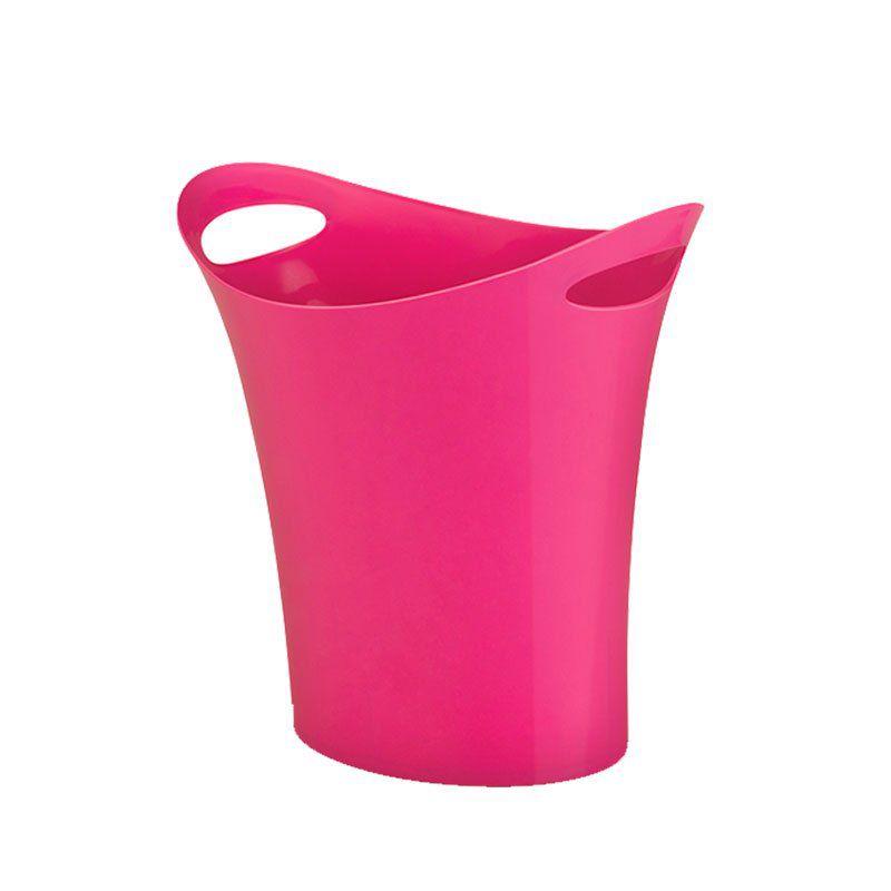 Cesto Para Lixo Waleu Rosa 10150003 25084