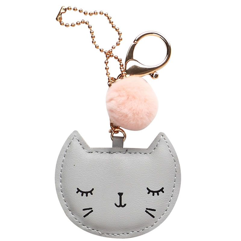 Chaveiro Gato Key Chain UP4YOU Cinza Chv79806Up 28136