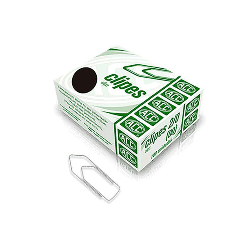 Clips 2/0 Aço Galvanizado Caixa Com 100 Un ACC 9.11.11.20-5 02410